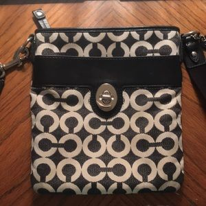 Used Coach crossover purse